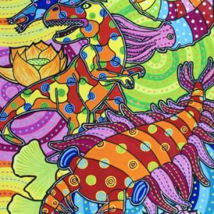 恐竜絵画コンテストで銅賞をもらいました