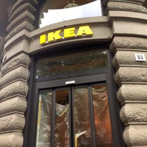 IKEA チューリッヒの、ど真ん中に今日オープン☆