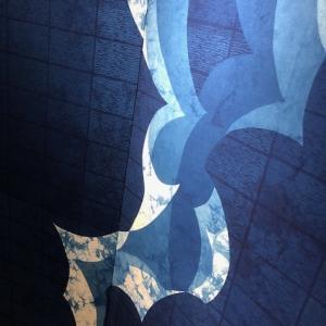 2019年11月  藍染作品展示@ぎゃらりぃS A R A