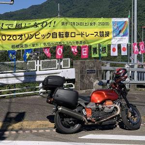 #076 モトグッツイV11 道志、笹子峠、本栖湖