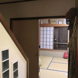 そういや、、 和室の入口をDIYしたよーな!