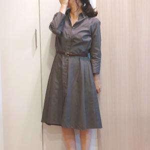 【ユニクロ購入品】Aラインワンピースが可愛くて153cmにぴったり