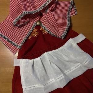 【ハロウィン】西松屋とダイソーで赤ずきんちゃん