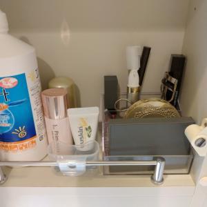【メイク用品収納】時短に繋がる洗面所メイクとダイソーのプラケースですっきり