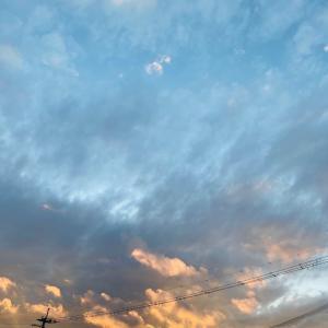 昨日の空★
