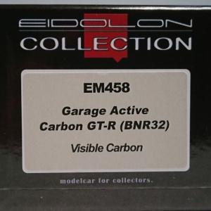 素晴らしきカーボン!EIDOLON COLLECTION 1/43 Garage Active Carbon GT-R(BNR32)Visible Carbon