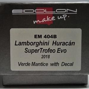 デカール付き???EIDOLON 1/43 Lamborghini Huracan SuperTrofeo Evo 2018 Verde Mantice with Decal