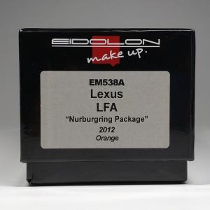 """まずはこのカラーでしょEIDOLON 1/43 Lexus LFA """"Nurburgring Package"""" 2012 Orange"""