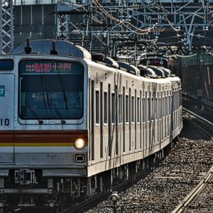 131S快速急行に東京メトロ7110F充当!