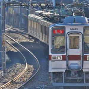 今日(2/4)の通勤3210レは11641F+11445F