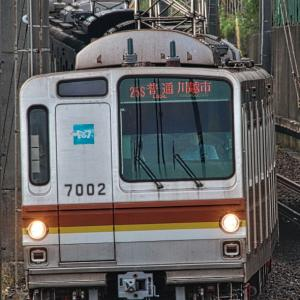 真っ先に消去した全検だった東京メトロ7102F