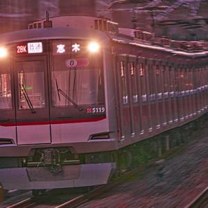 日没後の鉄道動態撮影の限界に挑戦!