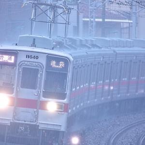 謎の早朝試運転列車!