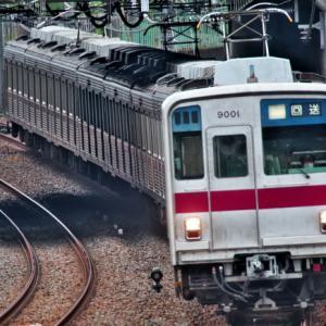 謎の回送電車9101F