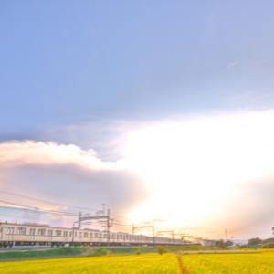 かなとこ雲と東上線