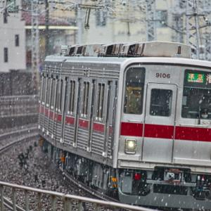 東上線の四季を行く9106F