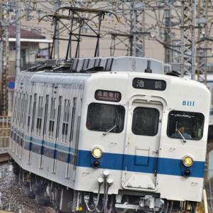 8111F最後の【通勤急行】2100レ