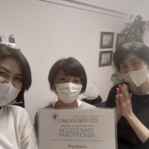 アクセス・バーズ講座 奈良生駒サロン 最強幸運日開催しました♪