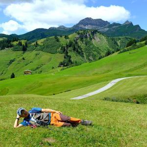オーバーレッヒをハイキング(5)