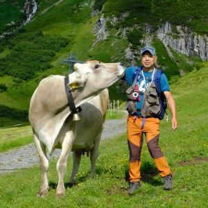 オーバーレッヒをハイキング(3)