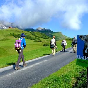 オーバーレッヒをハイキング(2)