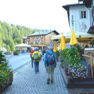 オーバーレッヒをハイキング(1)