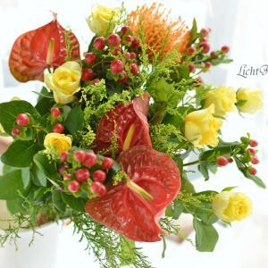 アンスリュームの花は印象深い!