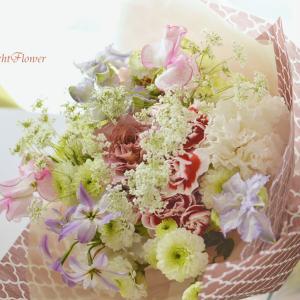 送別のかわいい花束