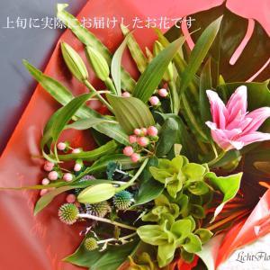 届くのが楽しみ!7月初旬・おうち時間が充実するお花のお届けをしました
