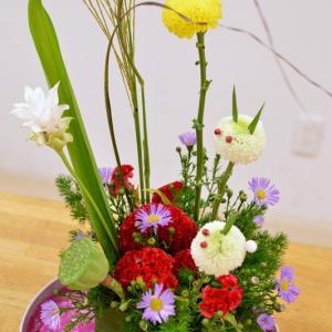 お月見~十五夜~の世界を創る!喜びを花から感じ、癒しを花から得て、美しさを花で表現する