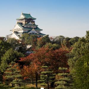 秋探し~大阪城