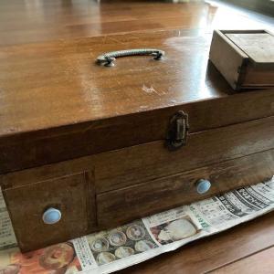 古い判子箱