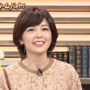 2019年「明石家サンタ」の八木亜希子さんの代役に中野美奈子さん!