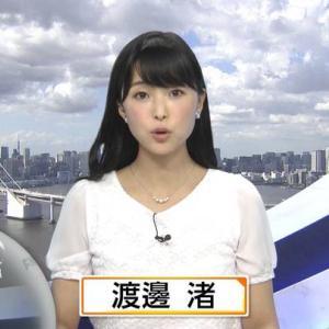 渡邊渚新人アナが4代目もしツアガイドに就任決定!