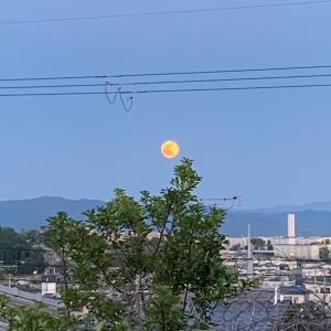 今夜、もうすぐウエサク満月