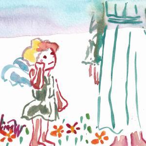 【絵本の制作】続報*「ちっちゃい天使の青い鳥」あらすじ、他