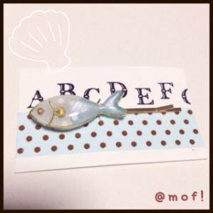 レジン☆お魚ヘアピン