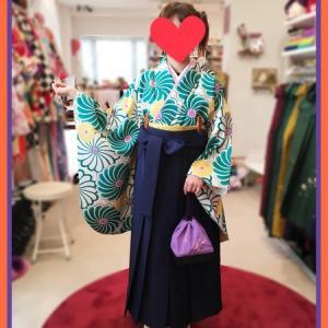 ねじ菊♡袴のご来店GIRL