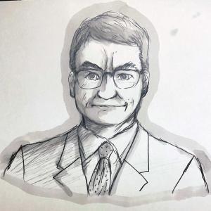 河野太郎大臣を描いてみる 笑( ̄∀ ̄)/