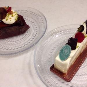 美味しいケーキでマッタリ♪ KINTOのカップ&ソーサー