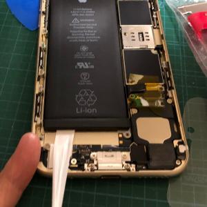 iPhone6sを分解してバッテリー交換したので手順を写真付きで紹介します