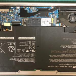 ASUSのノートパソコンUltraBook「UX31E」を分解〜M2.SSDの交換
