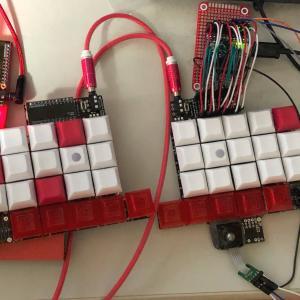 トラックボール付き自作キーボードを作るメモ(2)SU120で試作版を作る