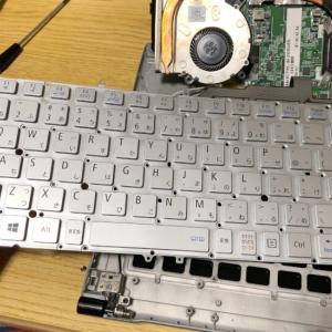 NECのノートパソコンVersaPro VK19SG-Fを分解、ニコイチしてCloudreadyを入れる