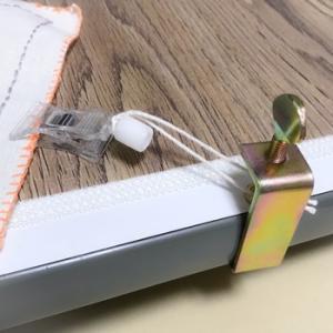 机上くけ台とかけはりは、100均材料で代用品を作るべし!