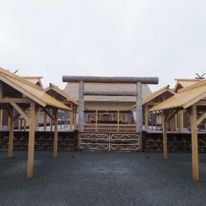 皇居の大嘗祭で使用された大嘗宮一般参観に行ってきました。