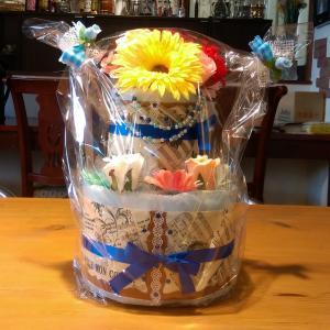出産祝い、迷ったらおむつケーキ♪