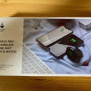 3in1高速ワイヤレス充電器SliceCharge Proを使ってみた