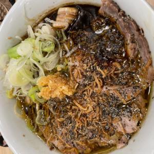 鶏そばムタヒロにて、鶏BLACKを食す