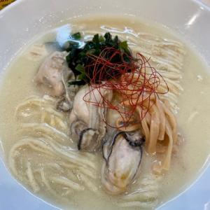 味噌中華そばムタヒロにて、牡蠣の味噌ラーメン 大盛を食す